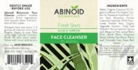 Abinoid-Botanicals-Face-Cleanser-Label